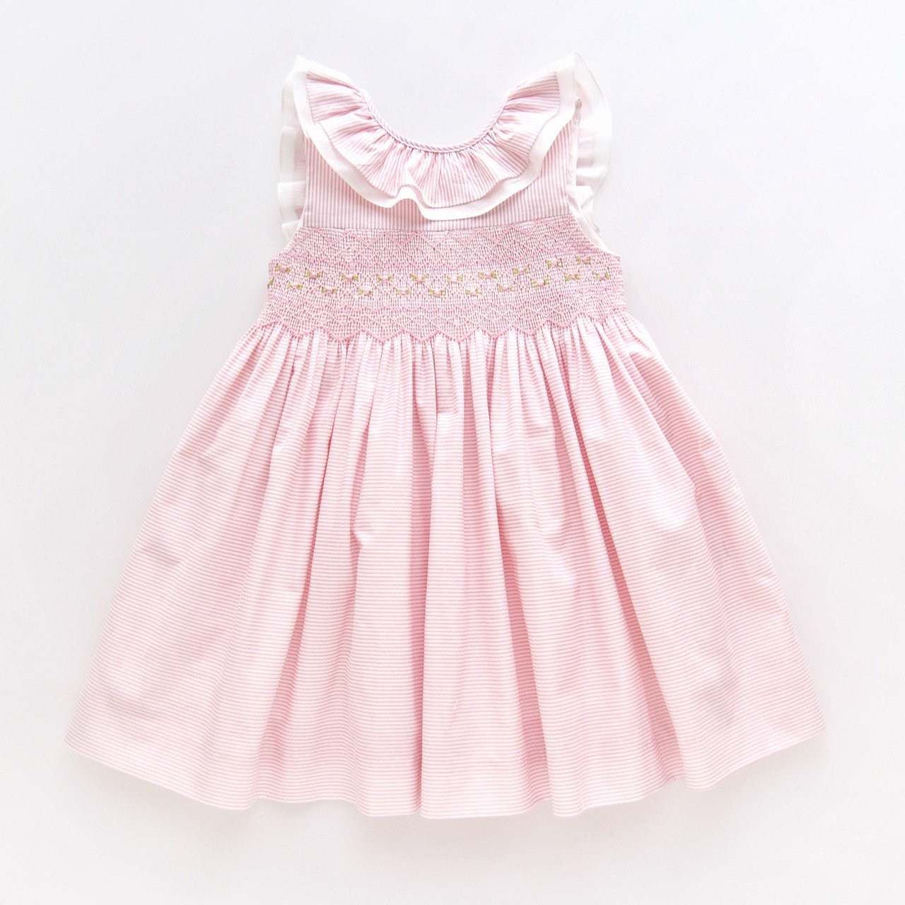 <img class='new_mark_img1' src='https://img.shop-pro.jp/img/new/icons14.gif' style='border:none;display:inline;margin:0px;padding:0px;width:auto;' />Kidiwi - MELINA dress (Pink pinstripes)