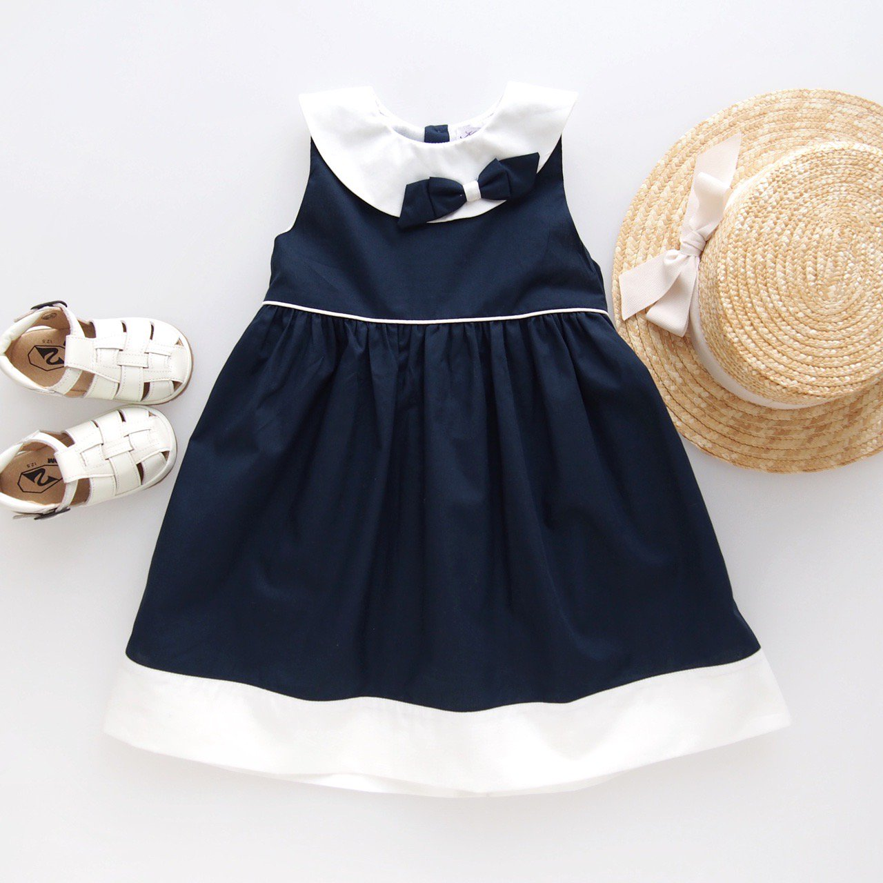 <img class='new_mark_img1' src='https://img.shop-pro.jp/img/new/icons14.gif' style='border:none;display:inline;margin:0px;padding:0px;width:auto;' />Kidiwi - ALEXIA dress (Navy)