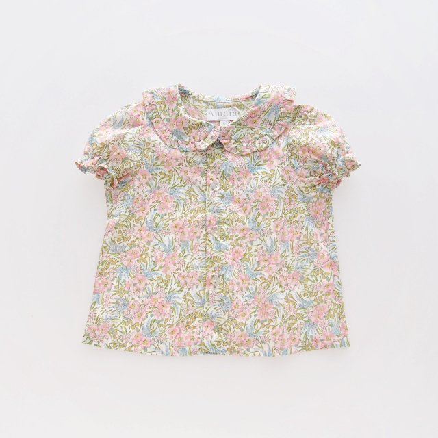 <img class='new_mark_img1' src='https://img.shop-pro.jp/img/new/icons1.gif' style='border:none;display:inline;margin:0px;padding:0px;width:auto;' />Amaia Kids - Gaya blouse (Liberty pink)
