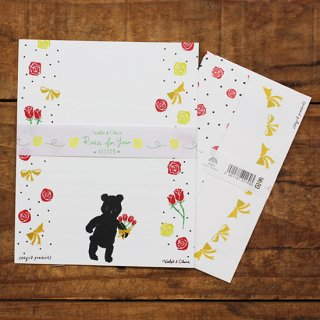 Violet & Claire レターセット Rose for you Letter