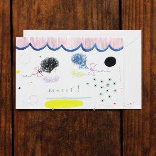 Subikiawa. メルシー(サンキュー)カード オンナノコフタリ
