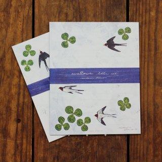 浅野みどり レターセット swallows letter set