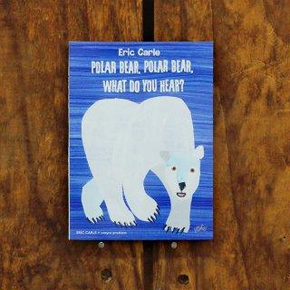 エリック・カール 付箋 POLAR BEAR, POLAR BEAR, WHAT DO YOU HEAR?(しろくまくん なにがきこえる?)