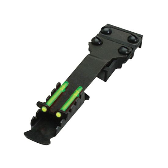 【A】HIVIZ ハイビズ スラッグ照門(TS1002/TS2002) 加工なし、リブに挟んでネジ締めだけで取付け可能な後付け照門