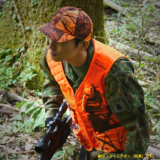 <img class='new_mark_img1' src='https://img.shop-pro.jp/img/new/icons5.gif' style='border:none;display:inline;margin:0px;padding:0px;width:auto;' />【E】HUNT& Hunting Mesh Vest ハントアンド ハンティングメッシュベスト ※左撃ち僅少※