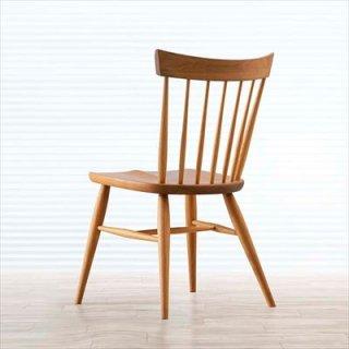高山ウッドワークス SC4K fan back chair/ウォールナット+オーク