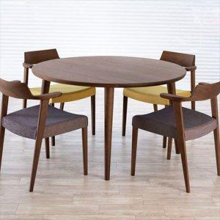 ブランコ ダイニングテーブル 丸型/ウォールナット・オーク(4色対応)