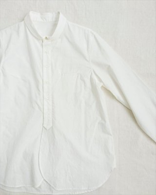 【pot-pourri】ハース 丸衿シャツ
