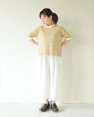 【TINA and SUSIE】カントリーメッシュボーダー 5分袖T