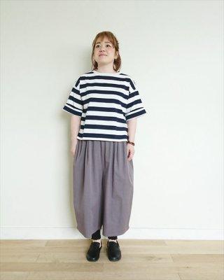 【blue willow】コーマ天竺 5分袖Tシャツ