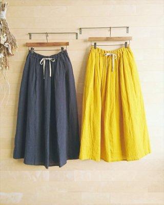 【pot-pourri】クラムリー タックロングスカート