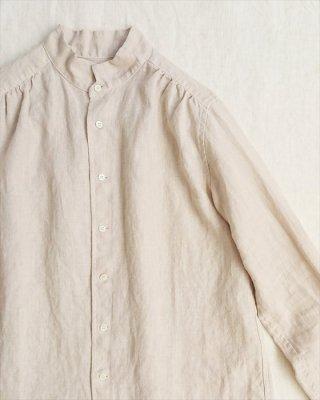 【pot-pourri】ポートリー チビ衿シャツ