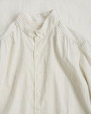 【pot-pourri】サールビー チビ衿シャツ