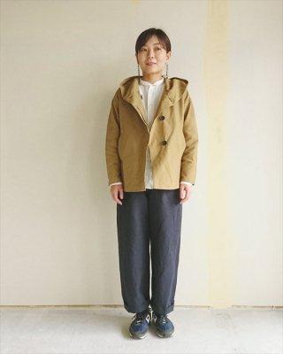 【blue willow】グログラン 2wayフードジャケット