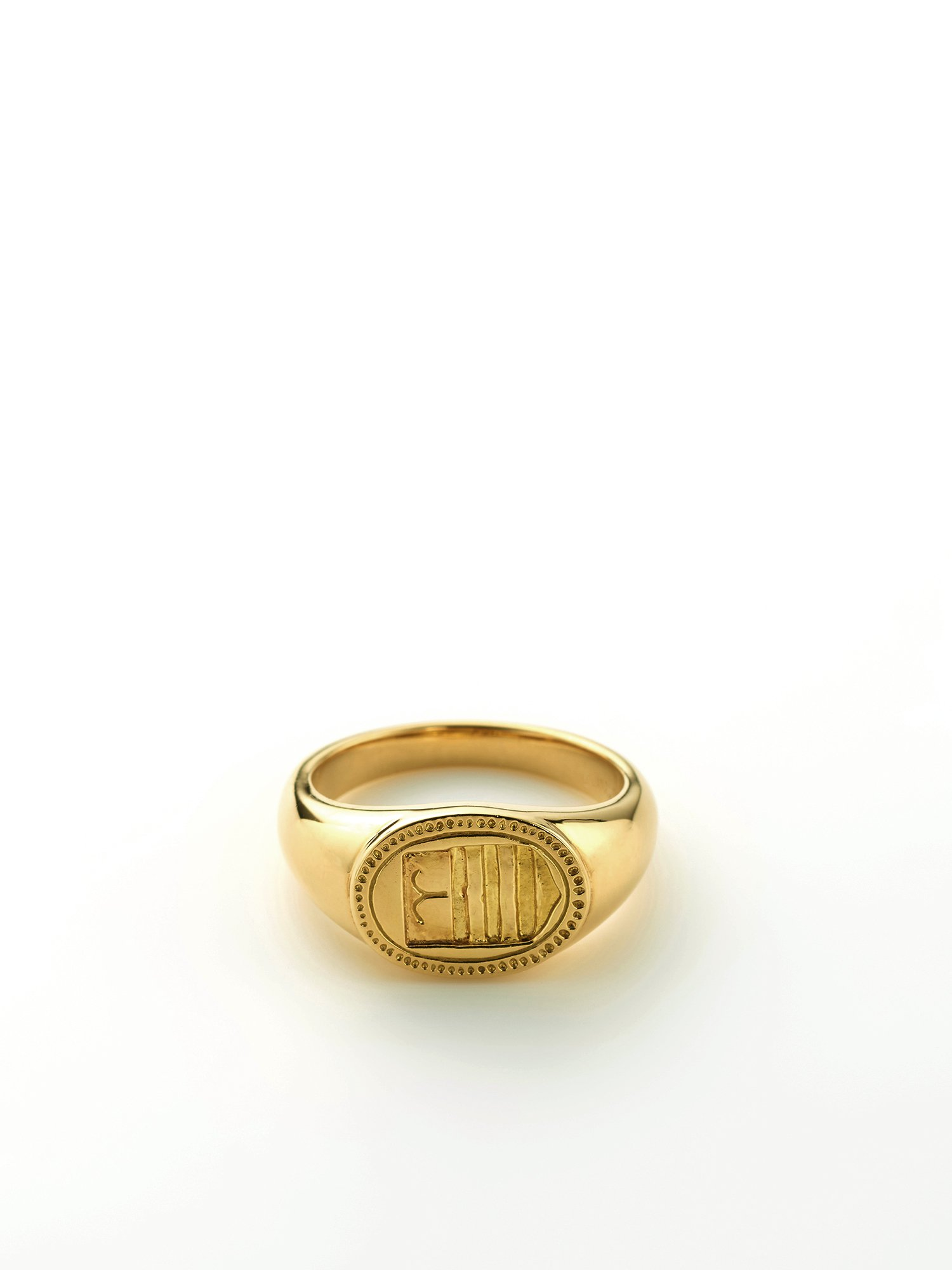 HELIOS / Zodiac signet ring