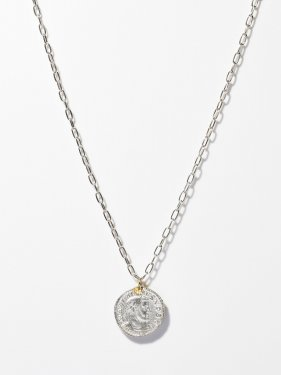 ARTEMIS / Roman coin necklace / FOLLIS