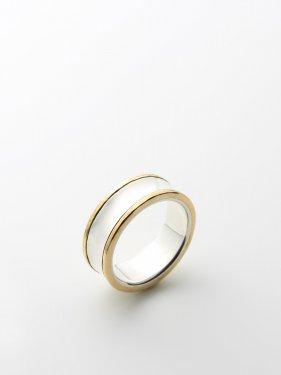 ARTEMIS / Artemis Gold line ring