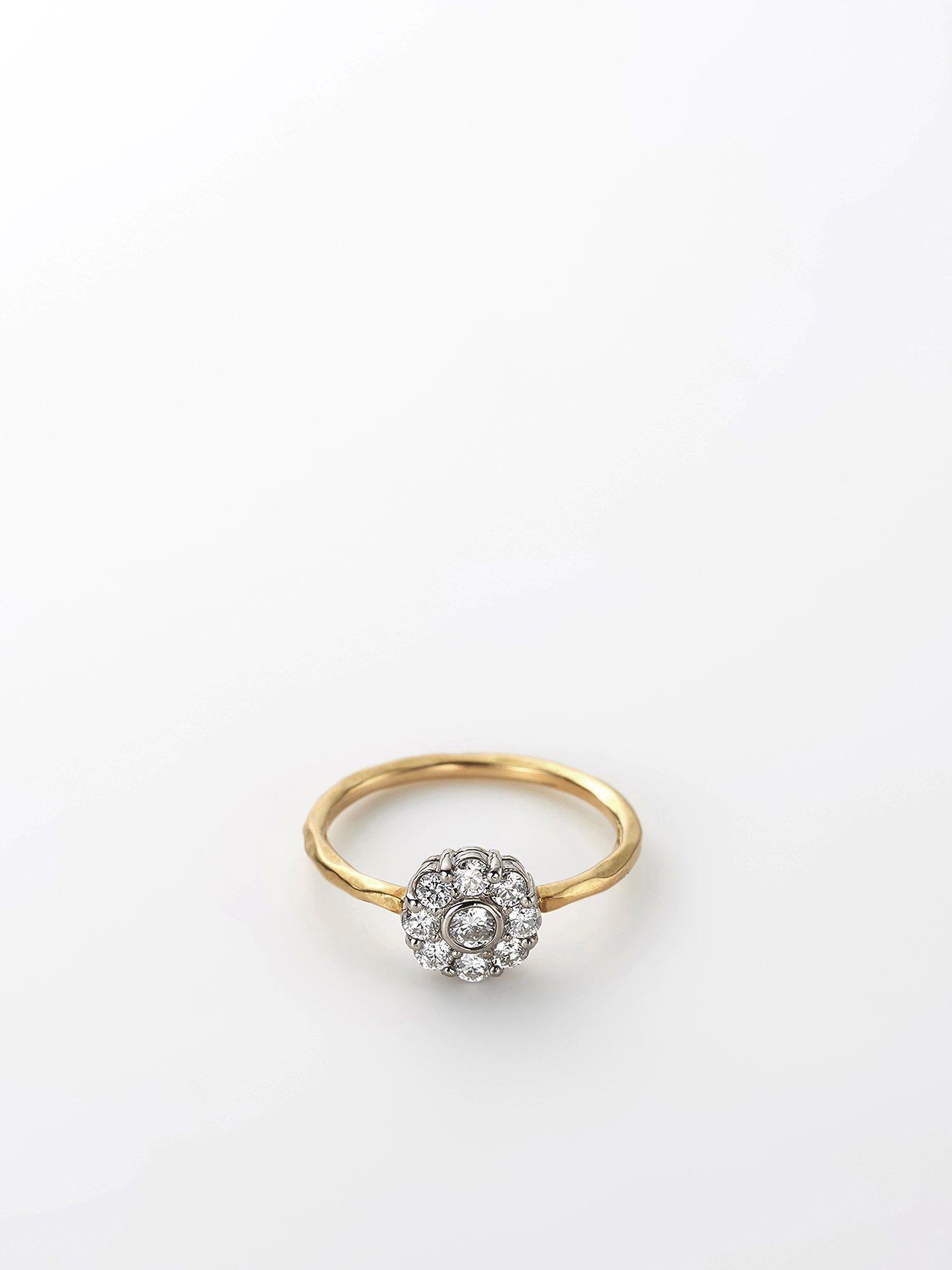 HISPANIA / Arabesque Flower ring / Diamond