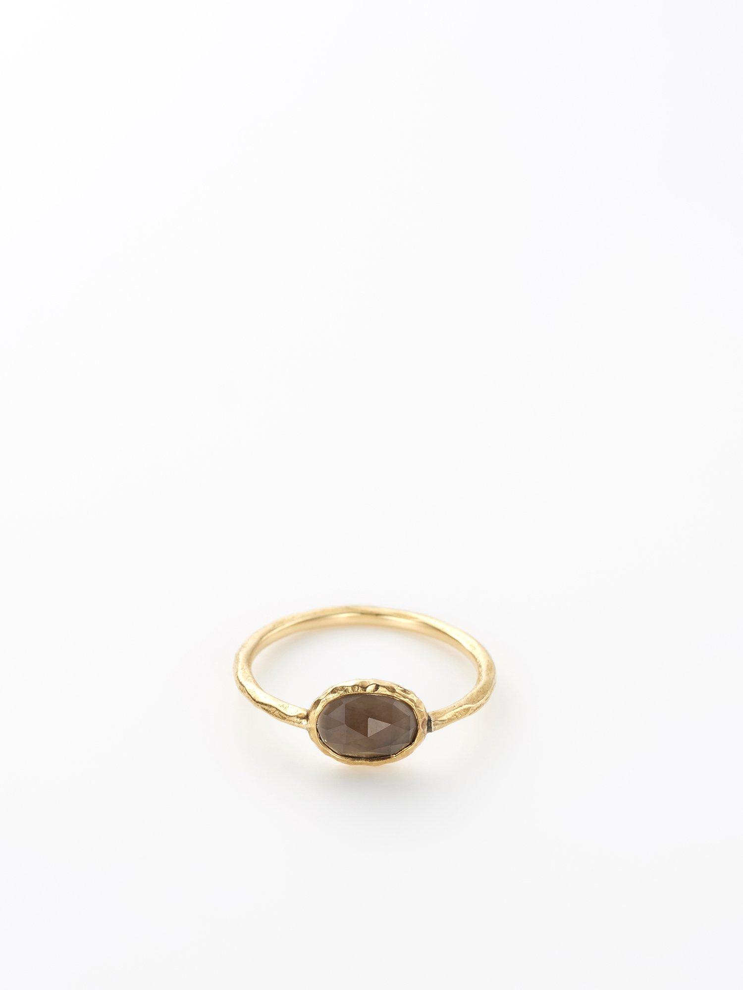 HISPANIA / Hispania lux ring / Smoky quartz