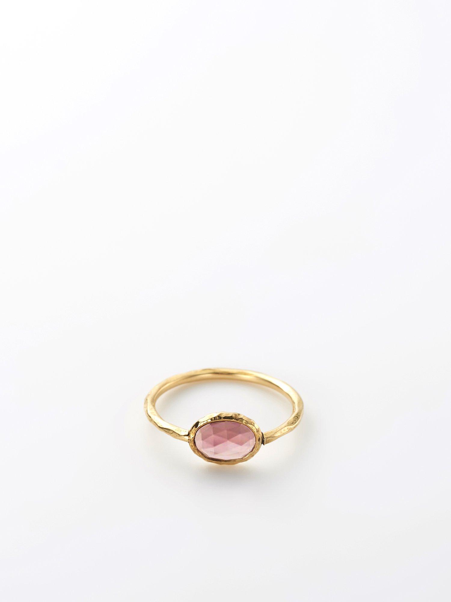 HISPANIA / Hispania lux ring / Pink tourmaline