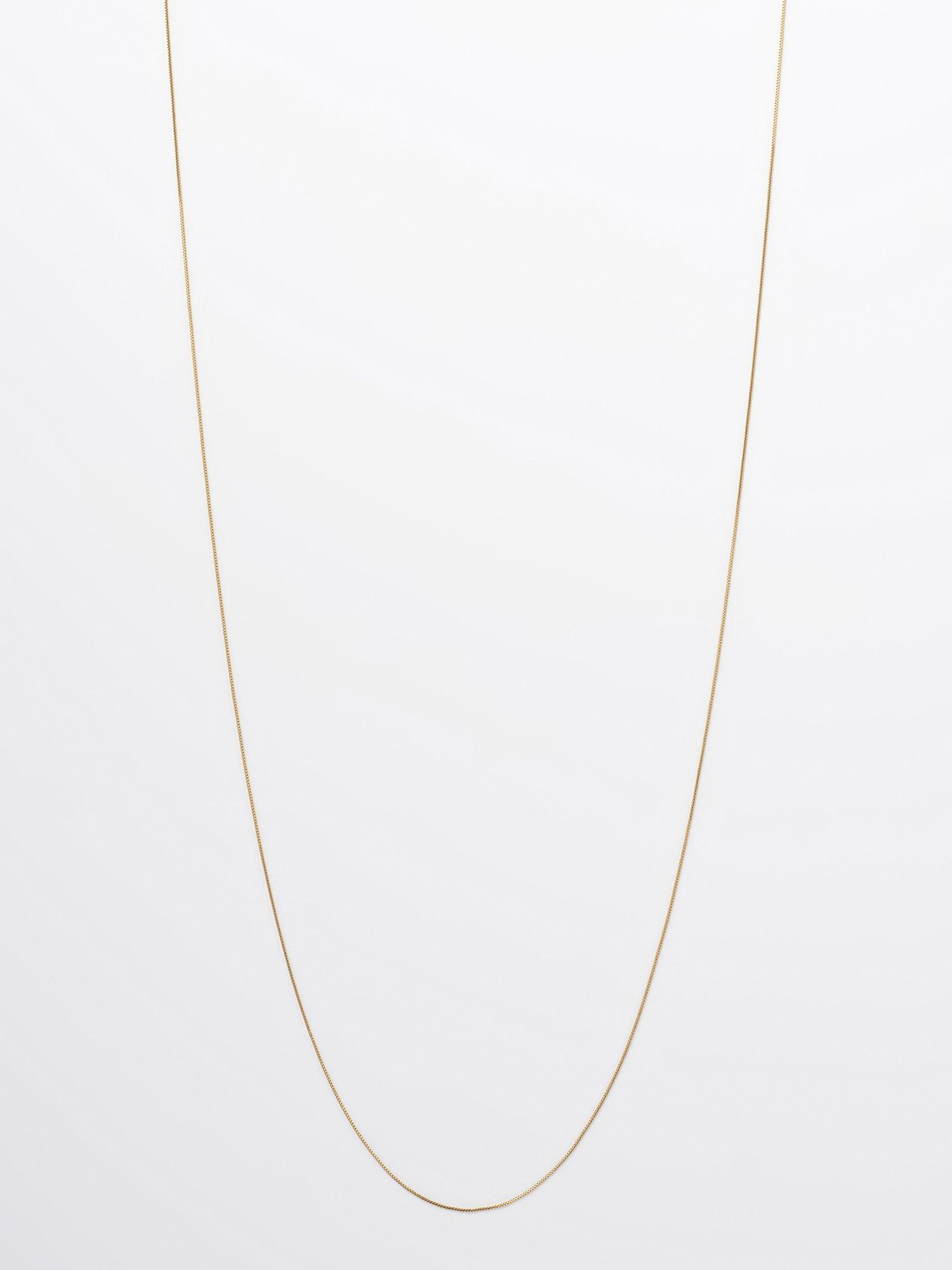 SOPHISTICATED VINTAGE / Gold line necklace / 950mm