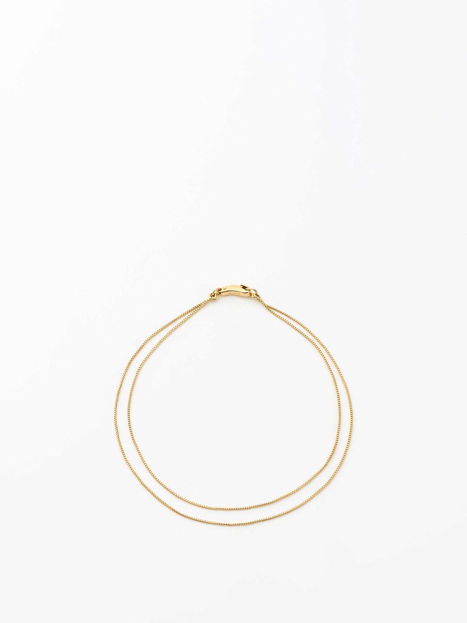 SOPHISTICATED VINTAGE / Gold line bracelet