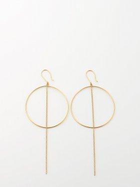 SOPHISTICATED VINTAGE / Orbit earrings