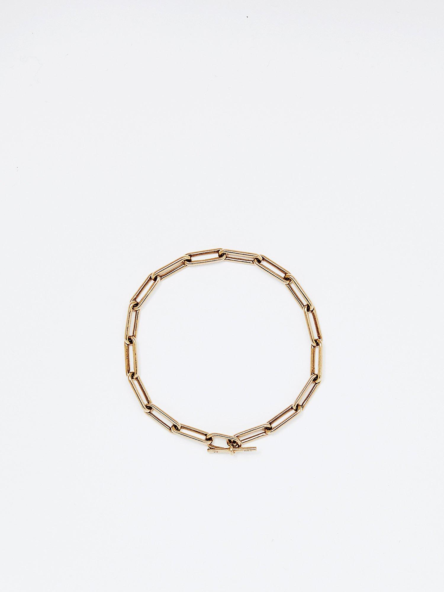 HELIOS / Boned chain bracelet