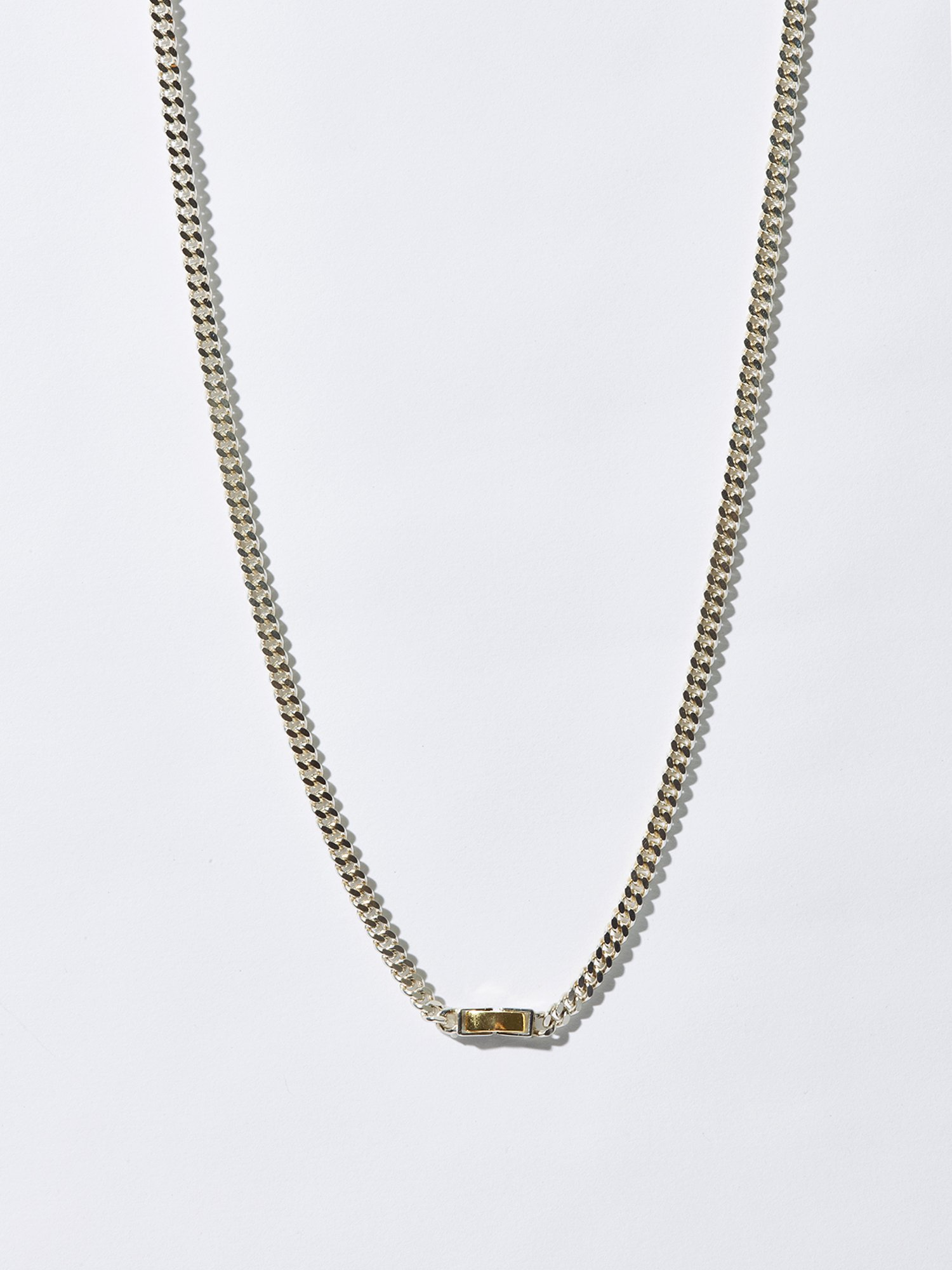 ARTEMIS / Tiny gourmette necklace