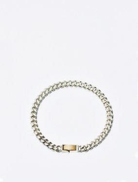 ARTEMIS / Tiny gourmette bracelet