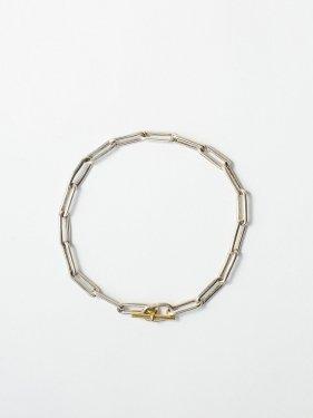 ARTEMIS / boned chain bracelet / 180mm