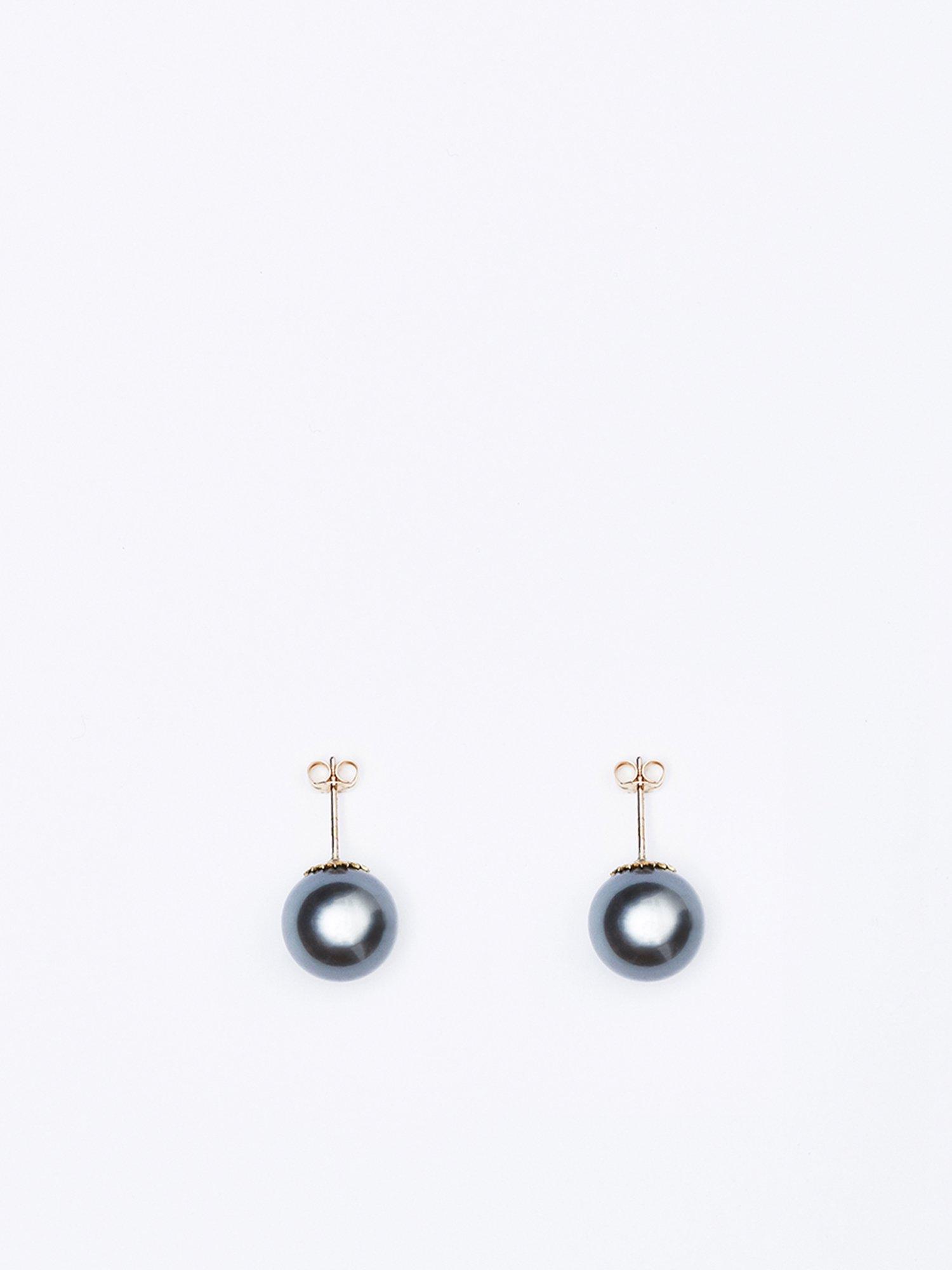SOPHISTICATED VINTAGE / South sea pearl earrings