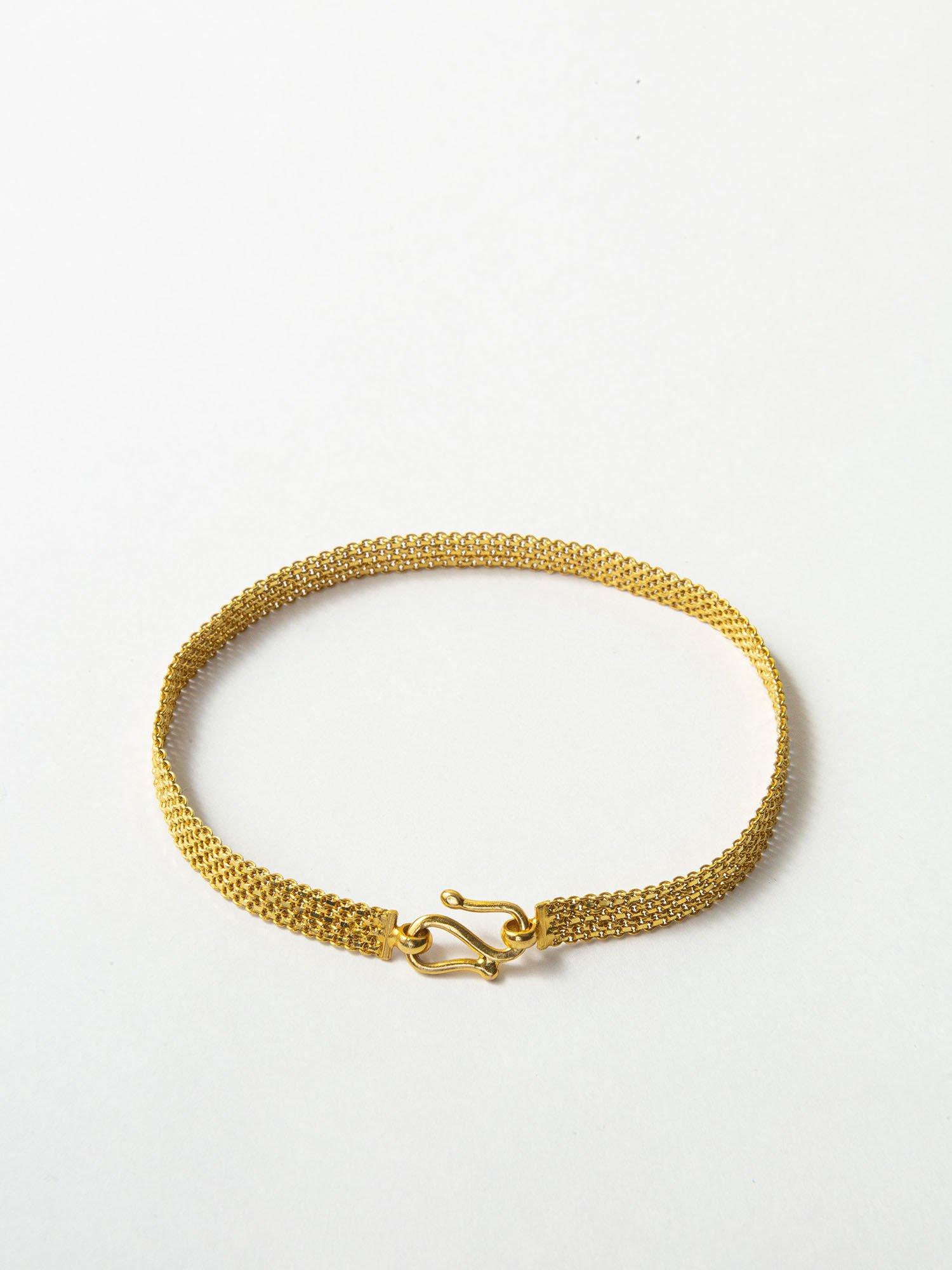 HELIOS / Chain kitting bracelet