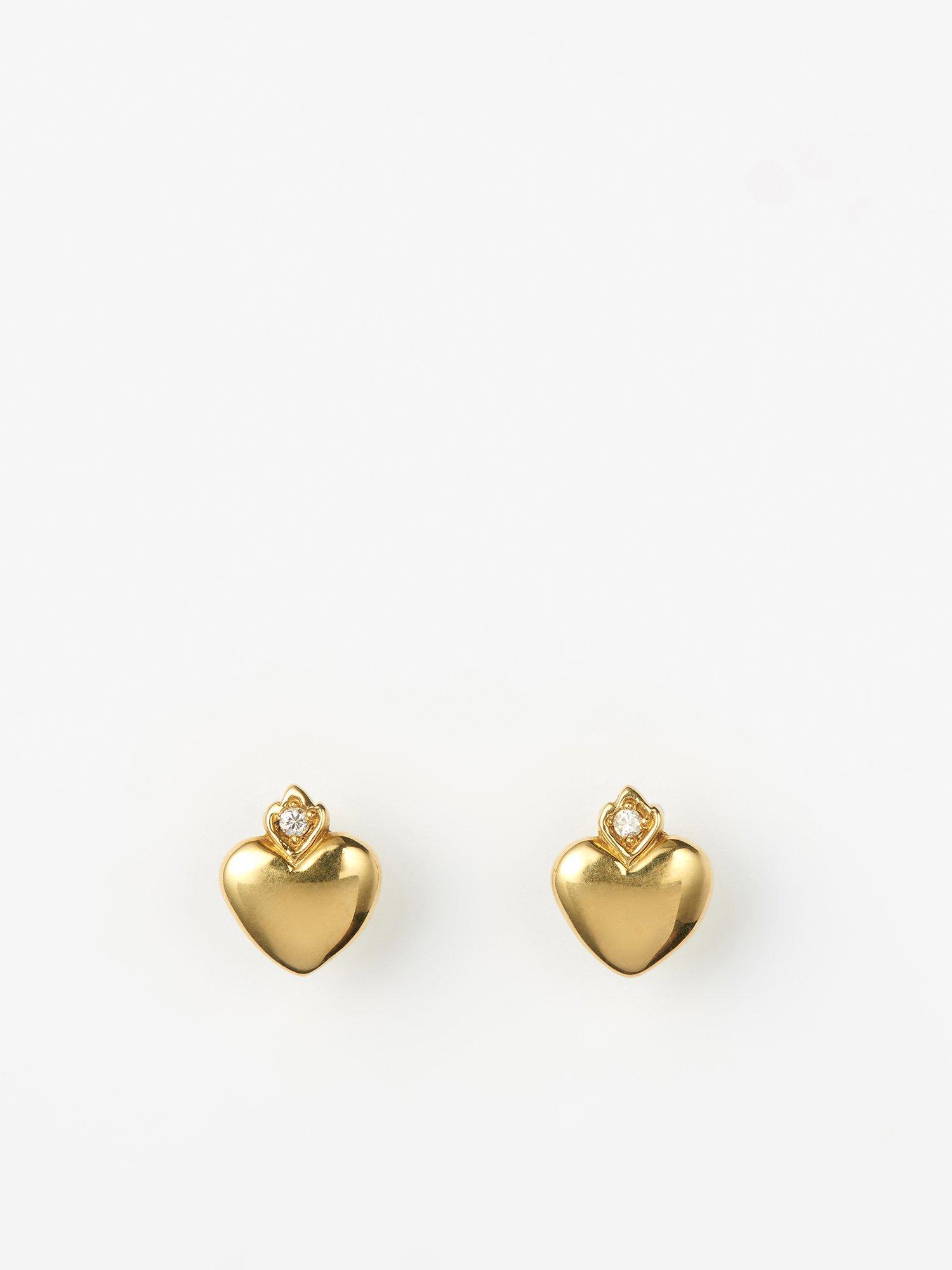 HELIOS / Old heart earrings