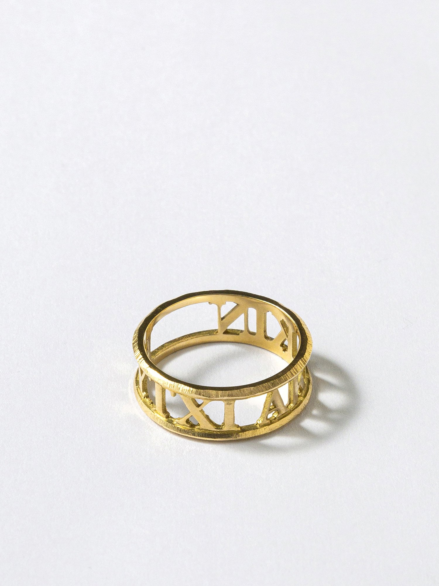 AMOUR / Inscription ring / EYTYXI AKAKIN