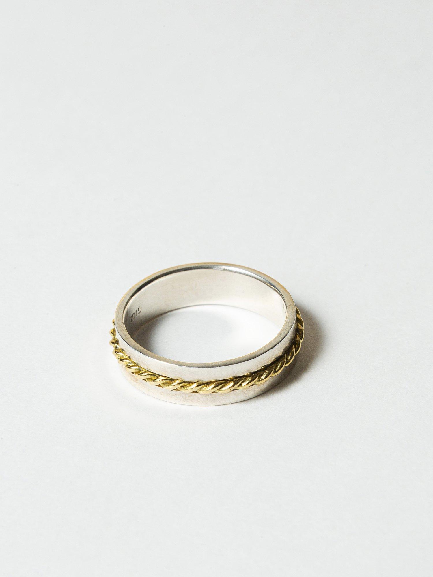 ARTEMIS /  French rope ring / 在庫商品 / サイズ12号