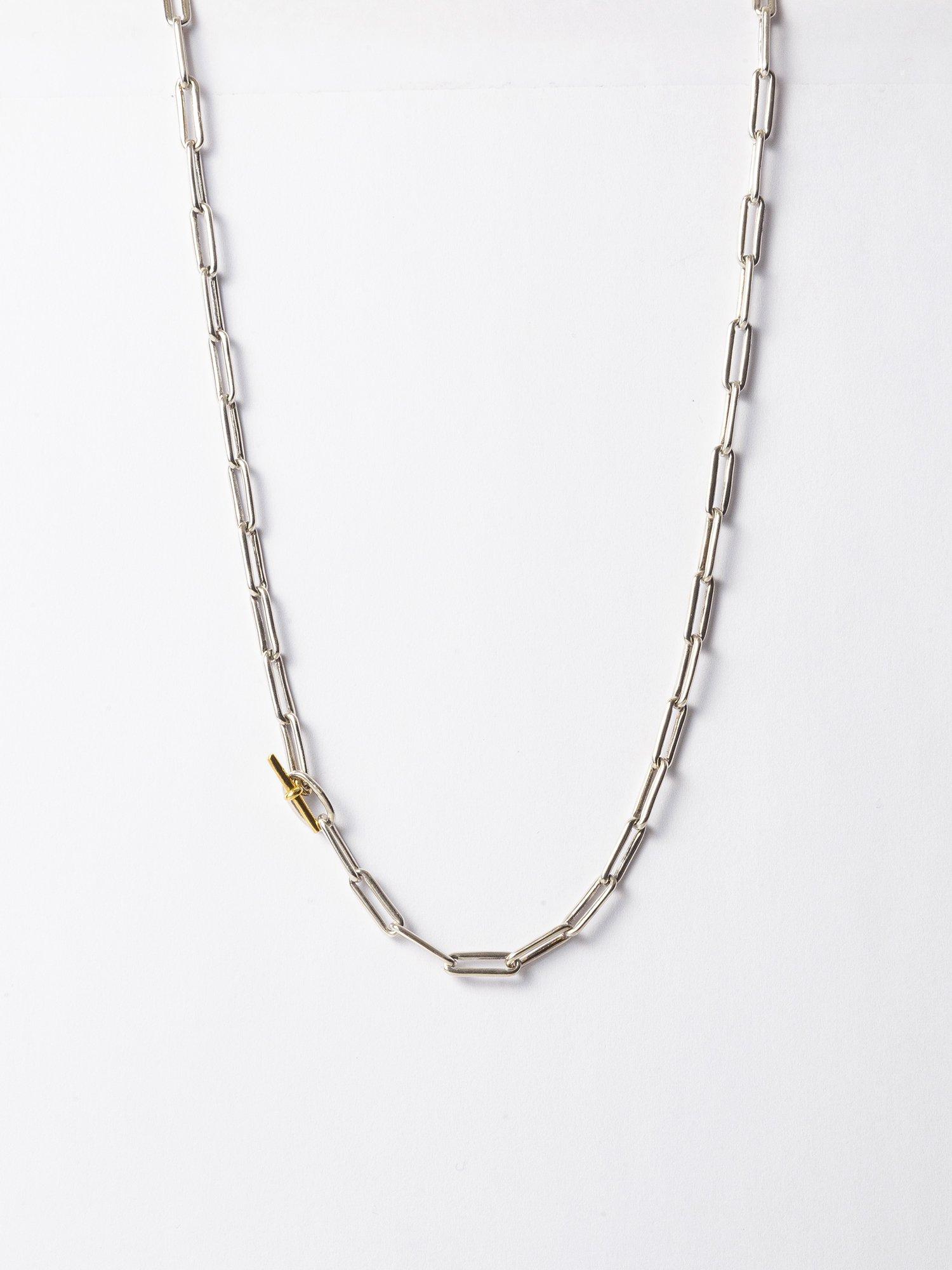 ARTEMIS / boned chain necklace / 在庫商品