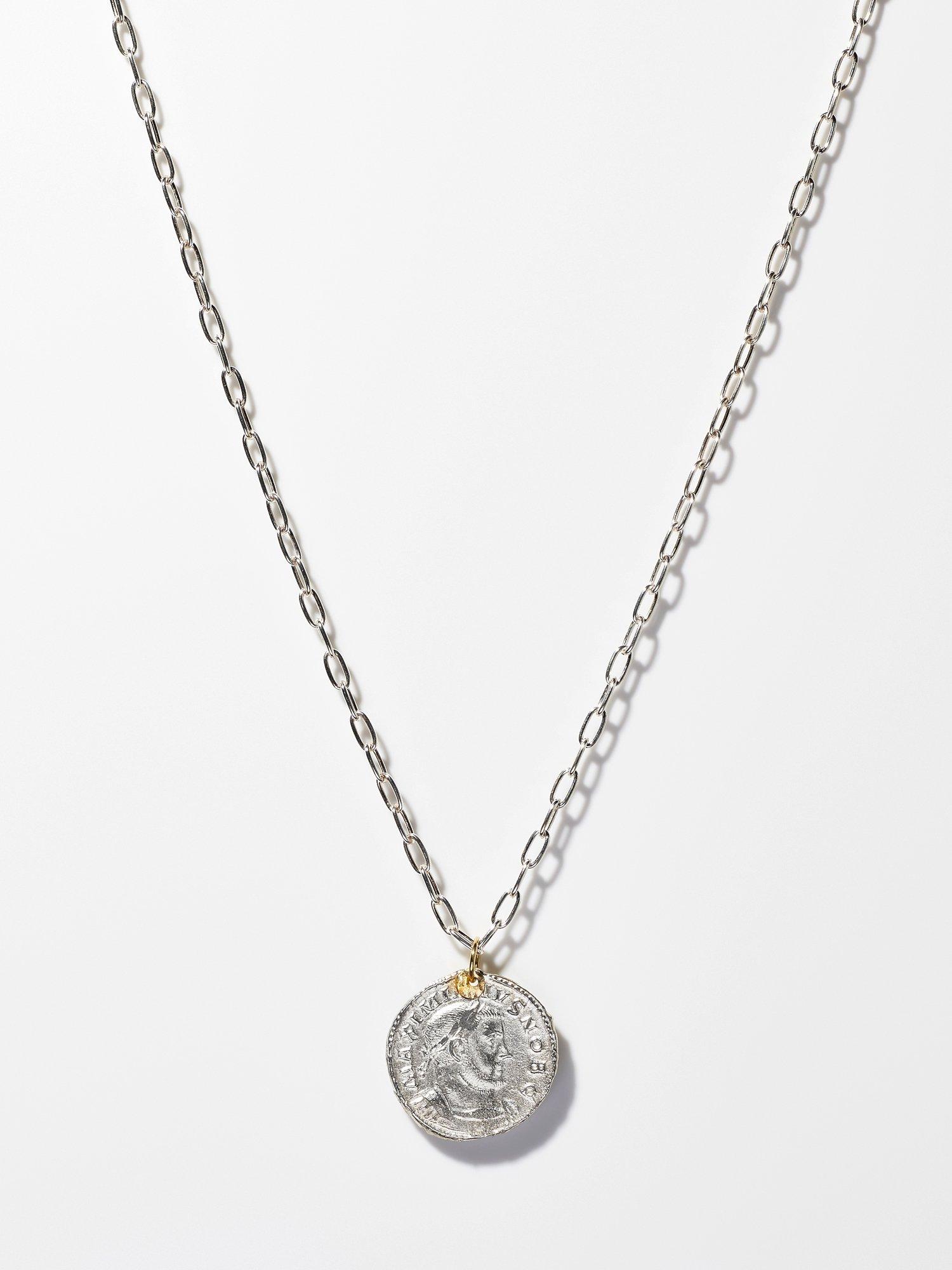 ARTEMIS / Roman coin necklace / FOLLIS / 在庫商品
