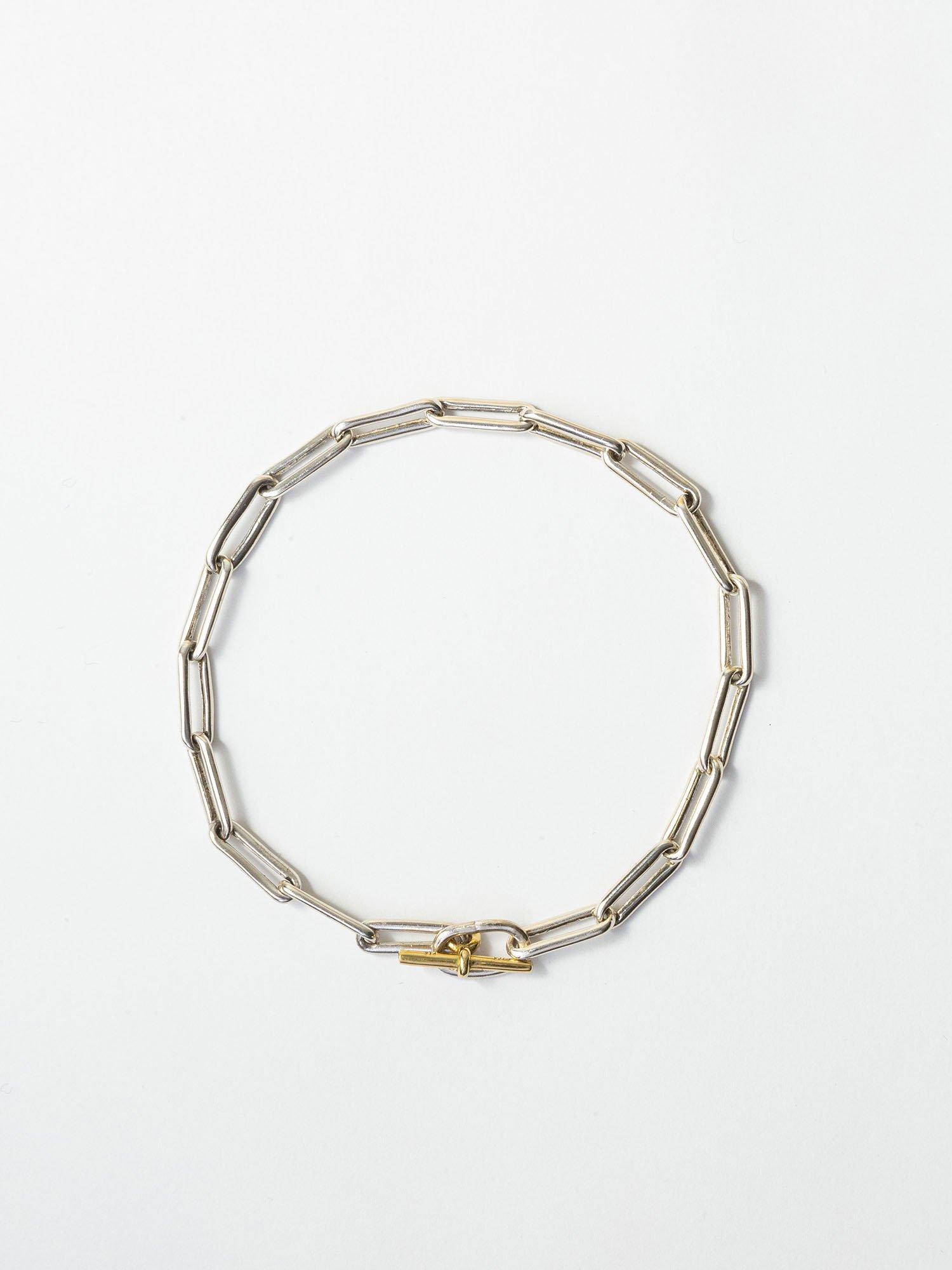 ARTEMIS / boned chain bracelet / 180mm / 在庫商品