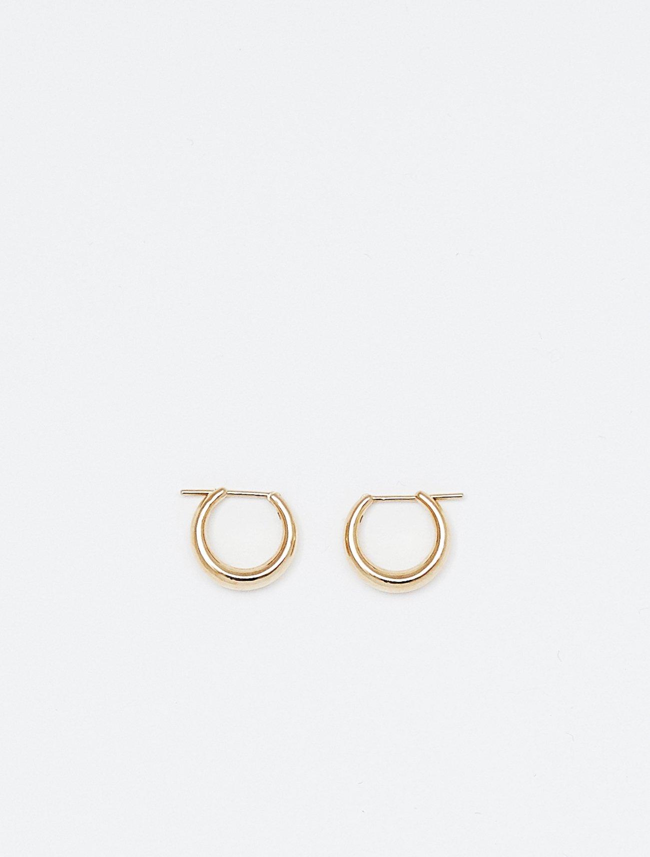 SOPHISTICATED VINTAGE / Authentic petit hoop earring
