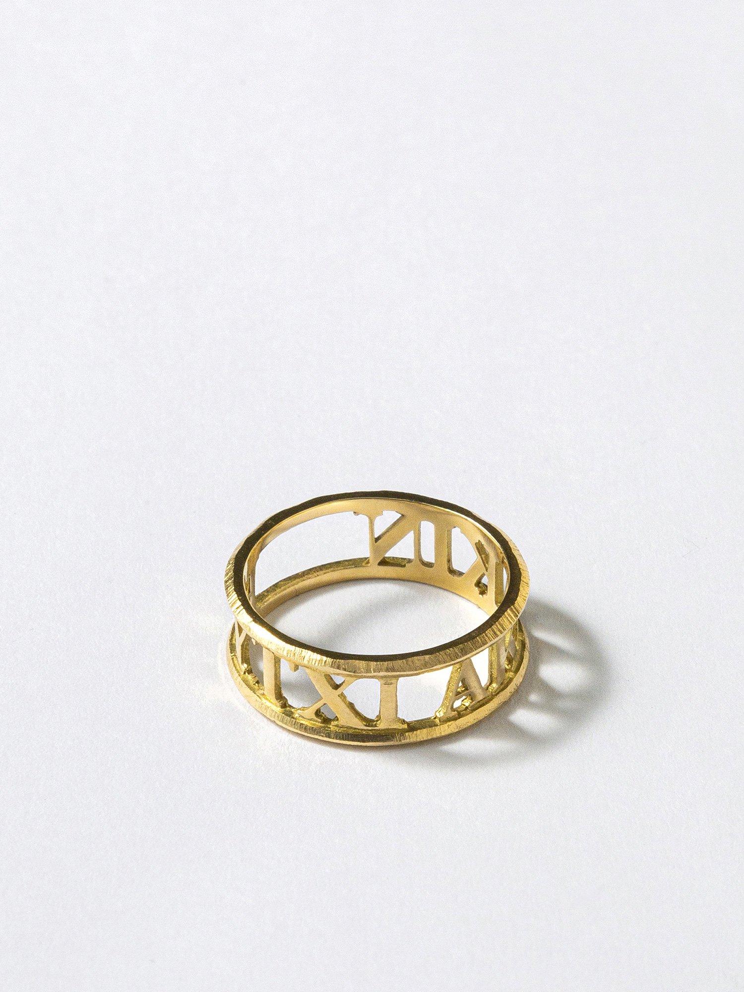 AMOUR / Inscription ring / EYTYXI AKAKIN / 在庫商品 / 12号