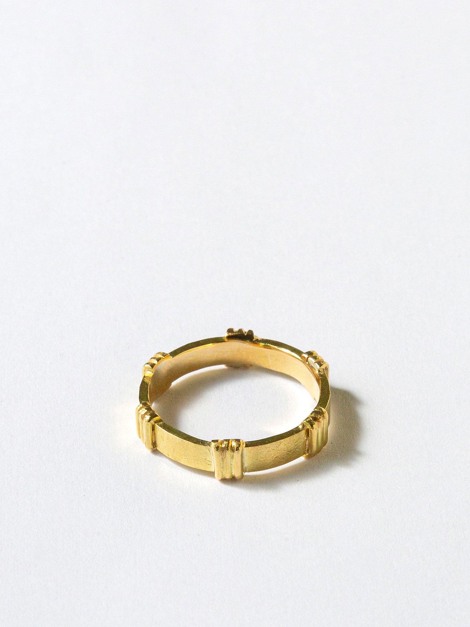 HELIOS / Roman plate ring / 在庫商品