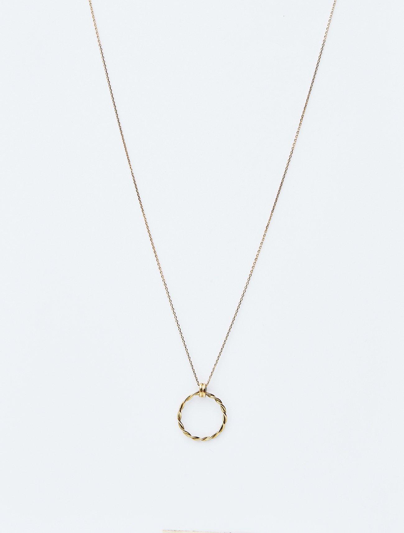 HELIOS / Infinity necklace / 在庫商品