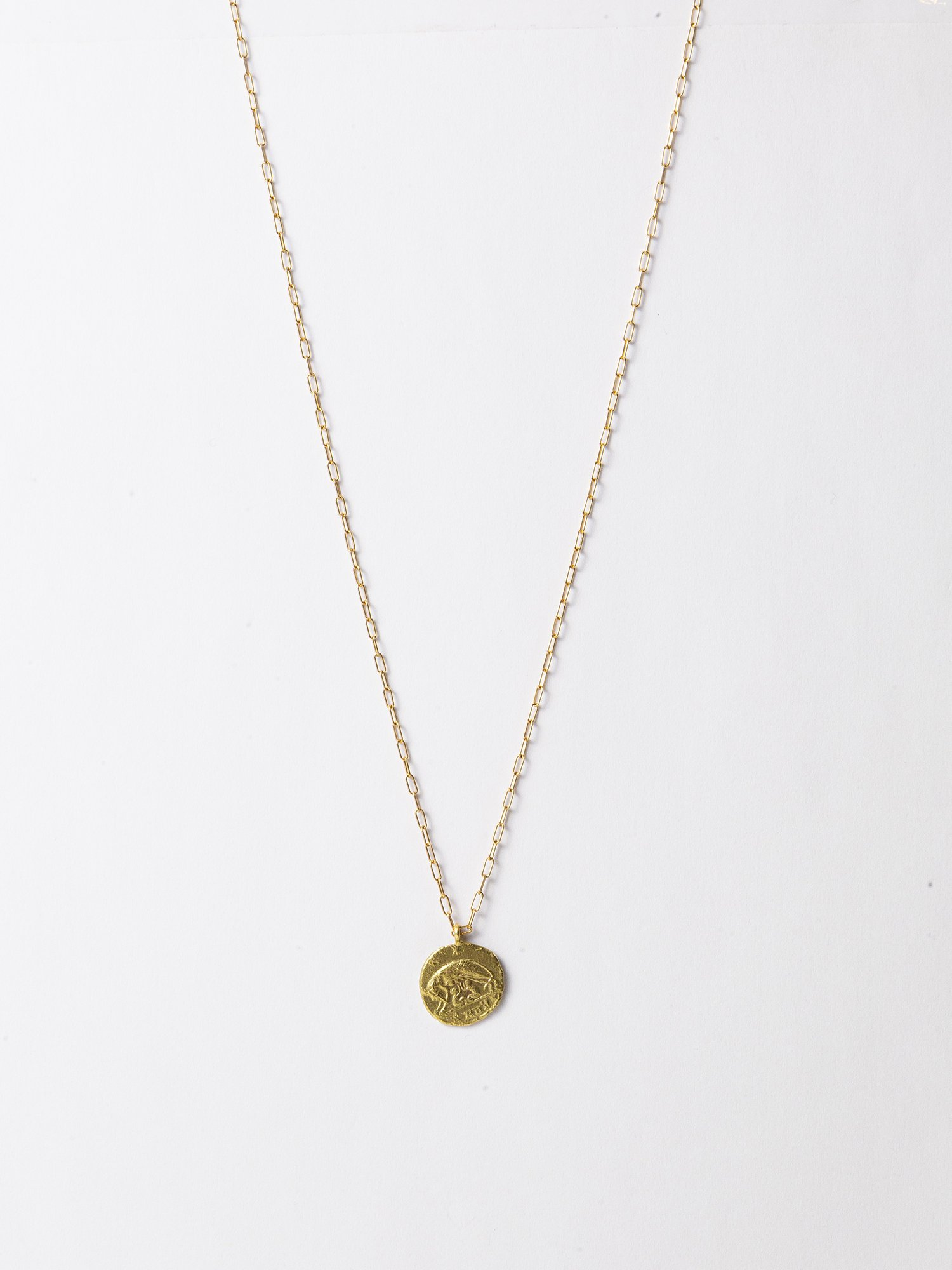 HELIOS / Roman coin necklace / Romulus and Remus / 在庫商品