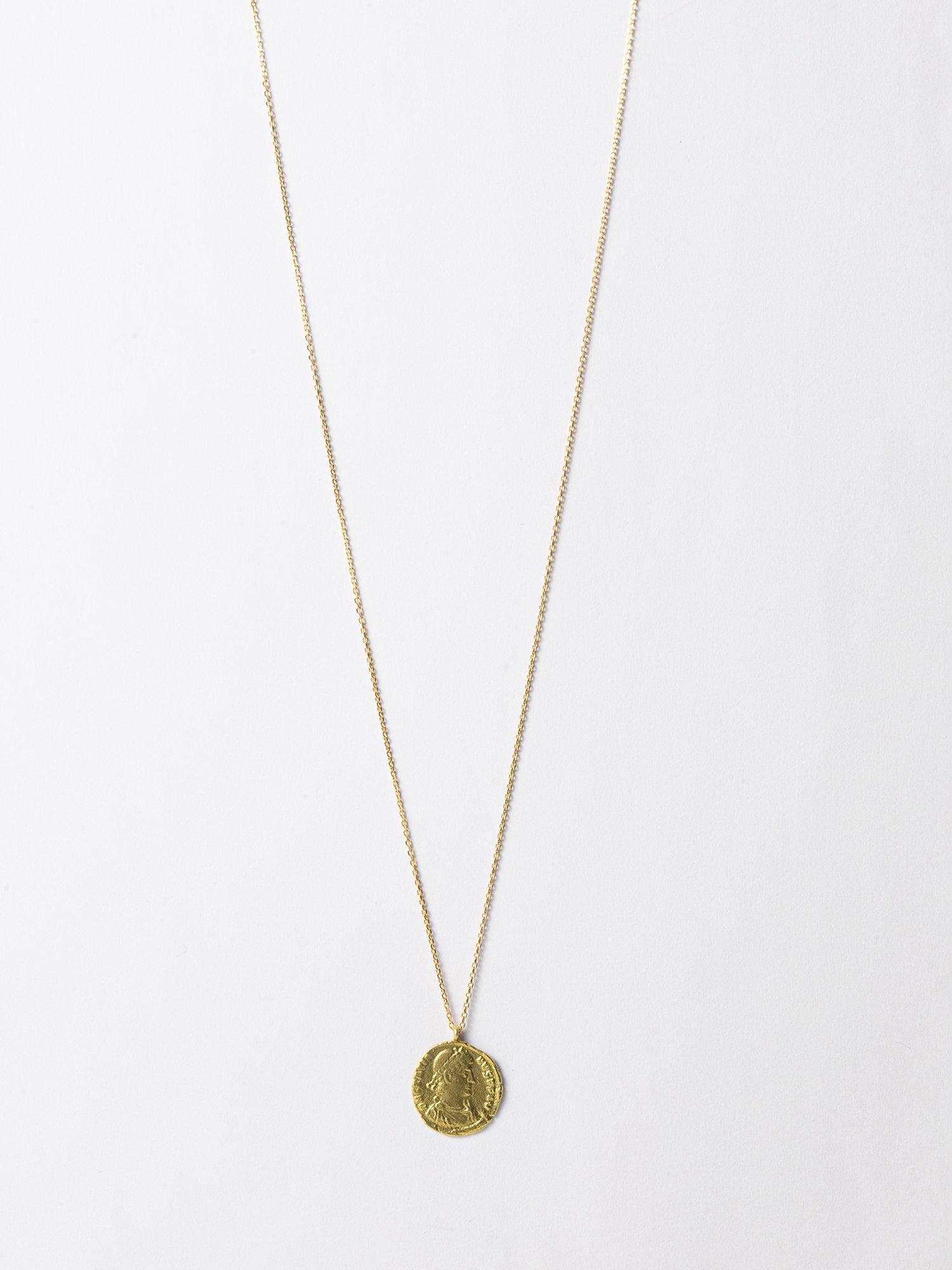 HELIOS / Roman coin necklace / Gratianus / 在庫商品