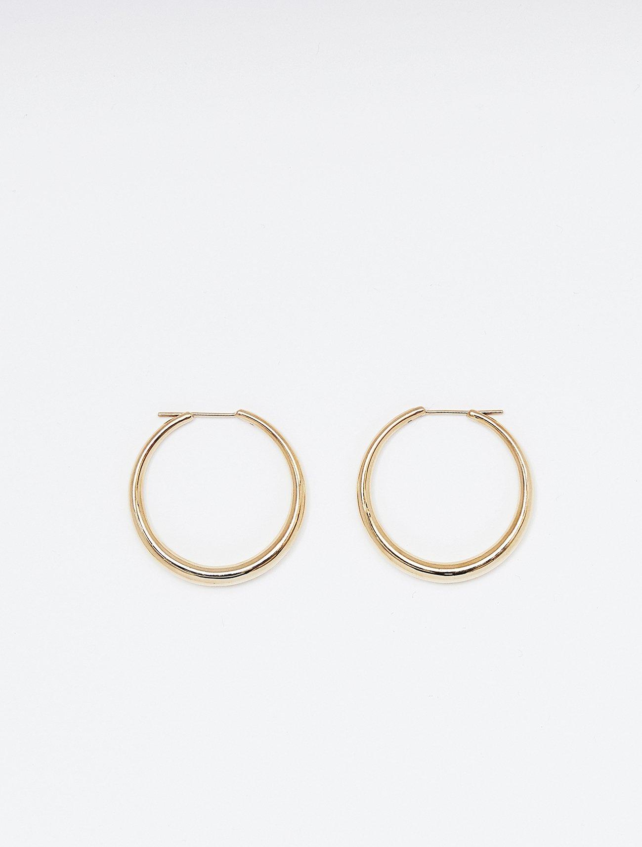 SOPHISTICATED VINTAGE / Authentic hoop earring / 在庫商品