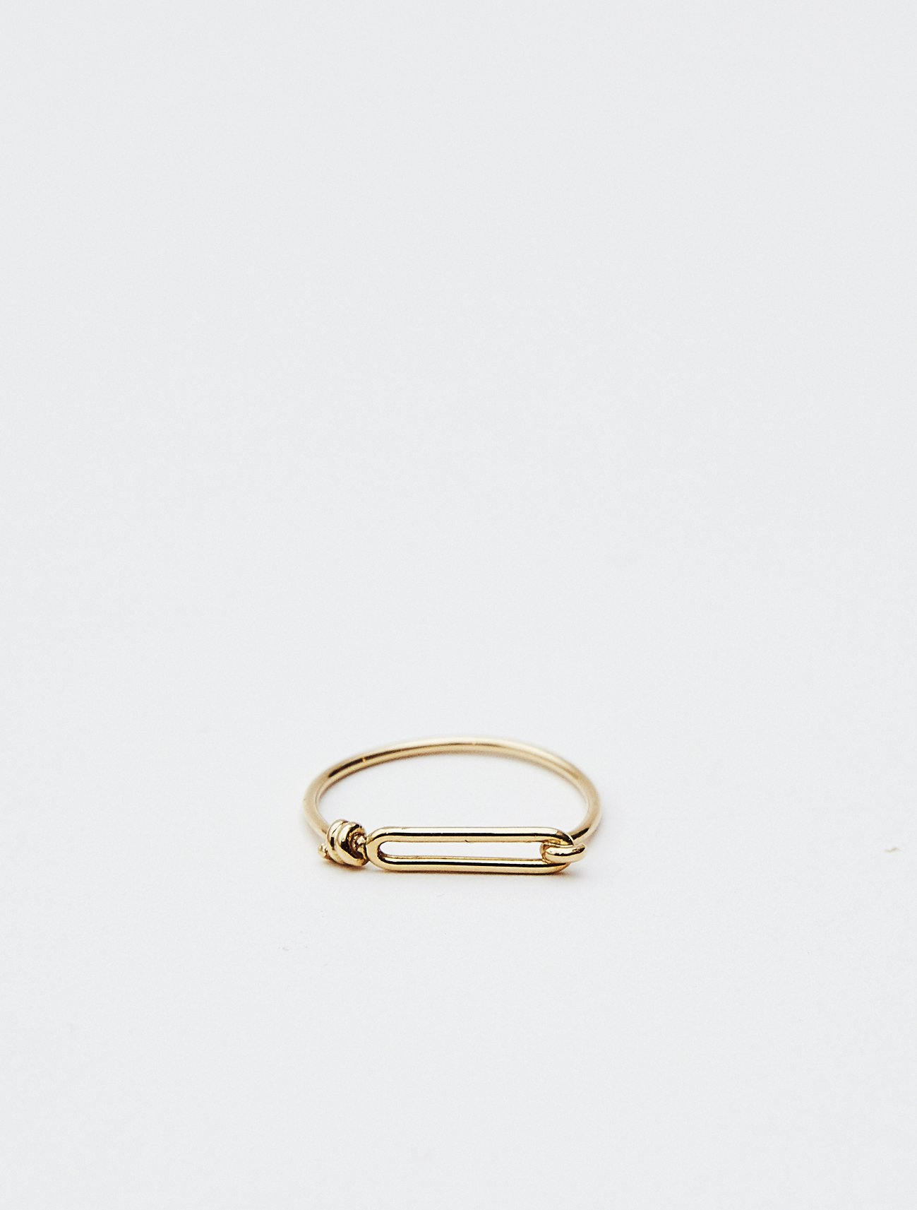 SOPHISTICATED VINTAGE / Gold wire ring (Hook) / 12号 / 在庫商品