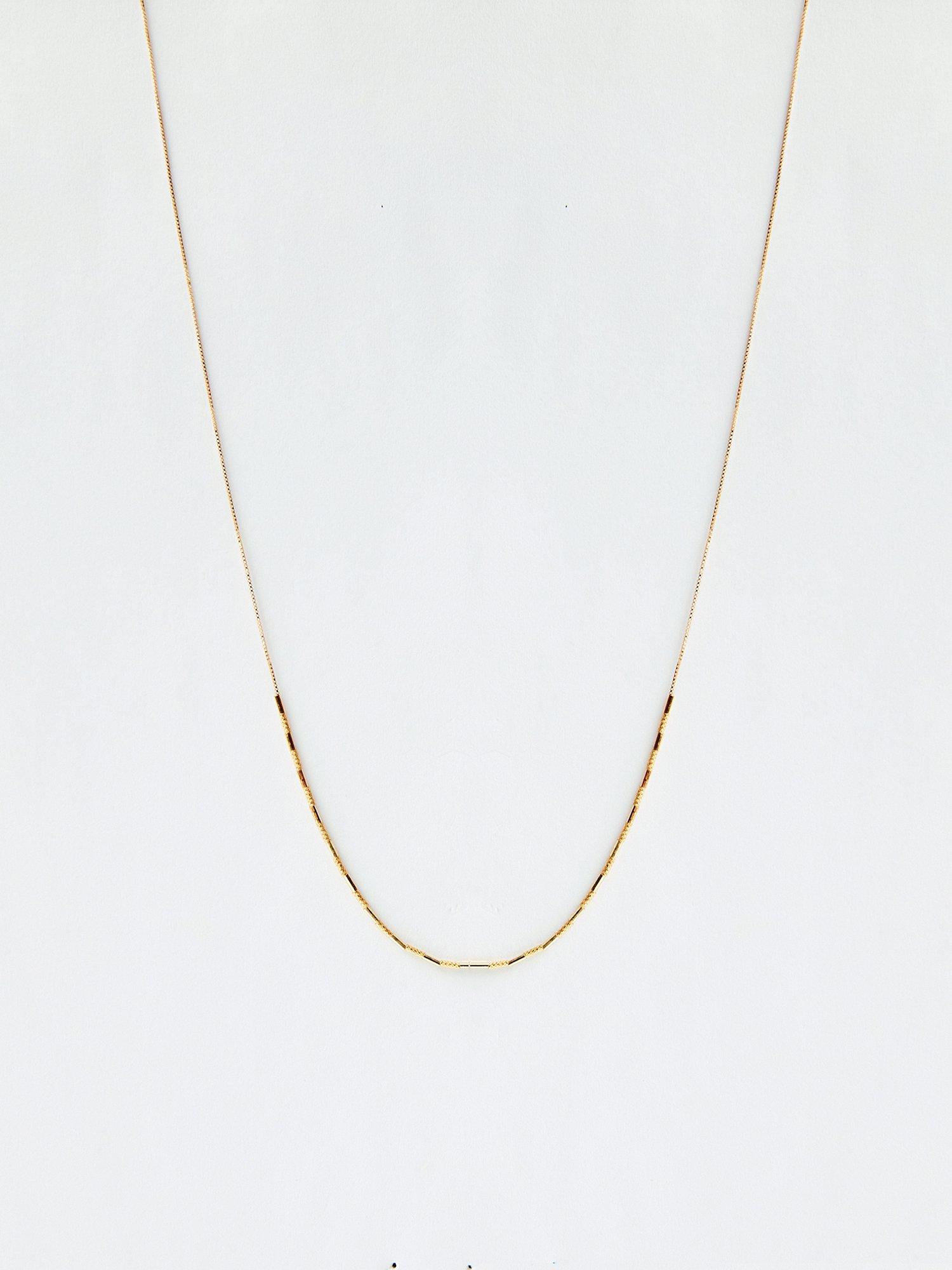 HISPANIA / Byzantine short chain necklace/ 380mm