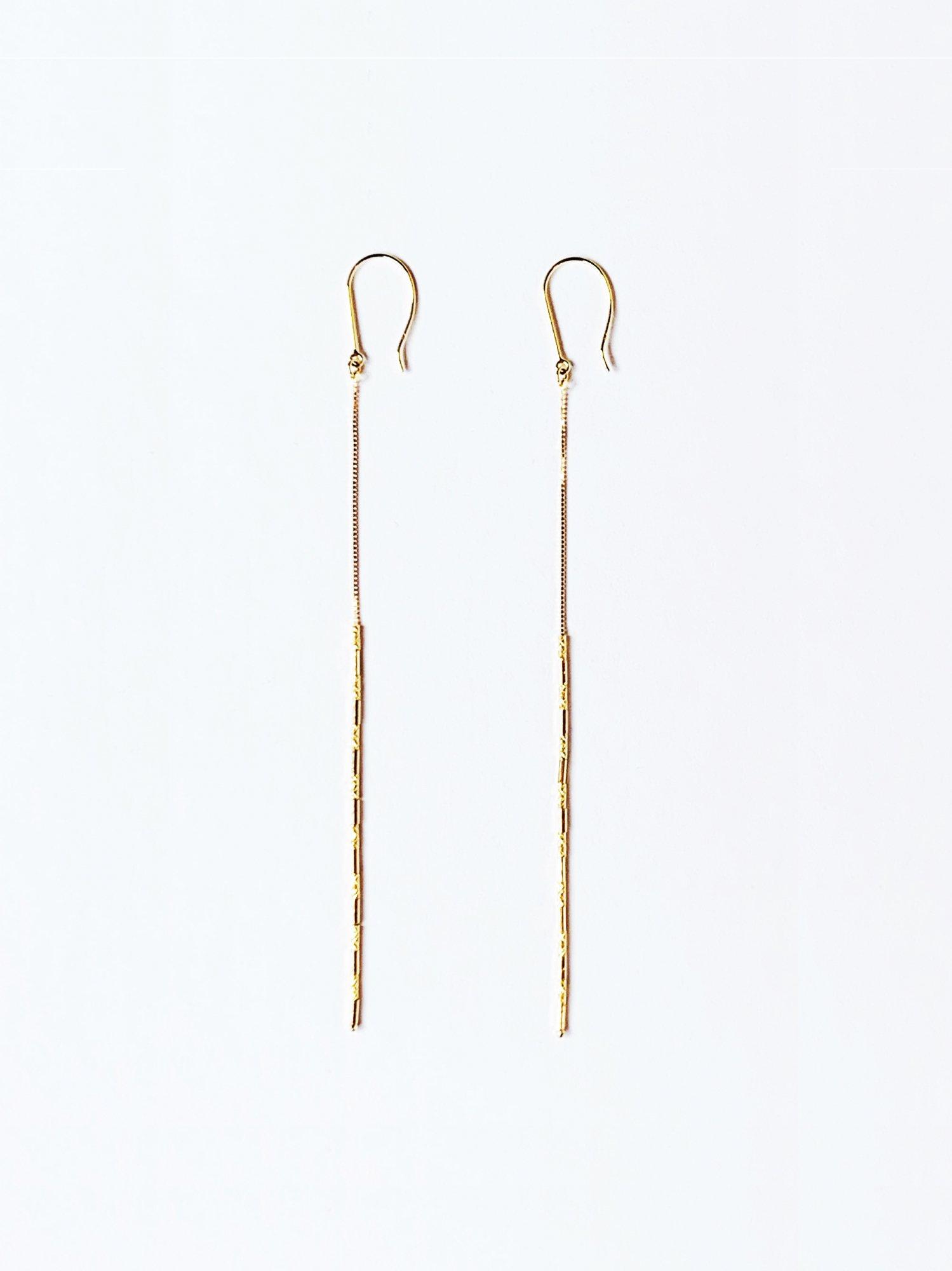 HISPANIA / Byzantine chain earrings