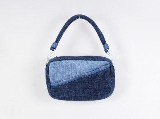 <Porter Classic/ポータークラシック>SASHIKO SHOULDER BAG S(New Blue)